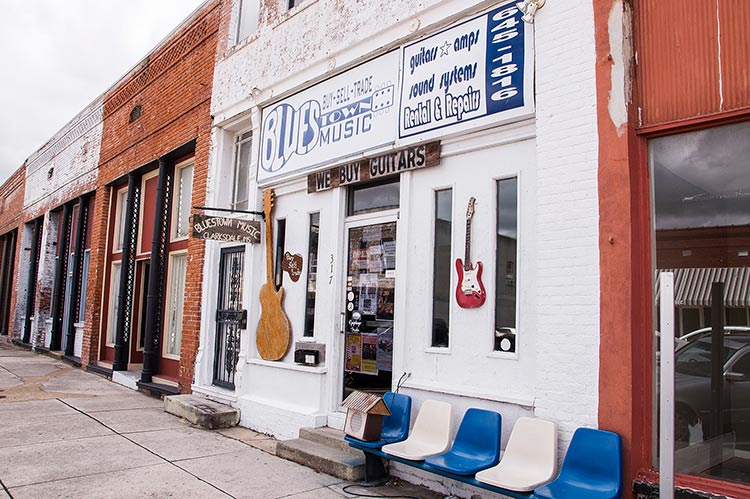 Bluestown Music, Clarksdale, Ms