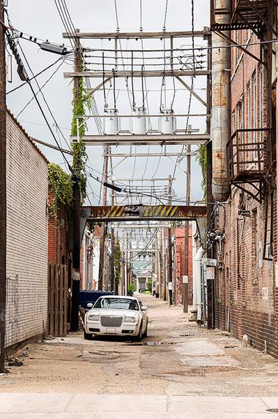 Alley, Clarksdale, Mississippi