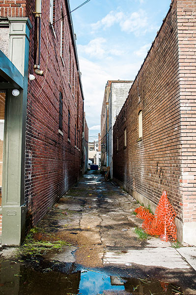 Clarksdale alley
