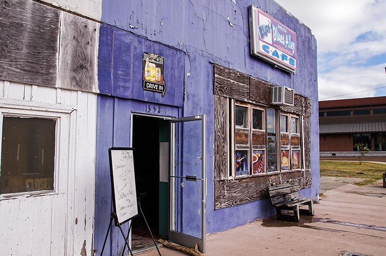 Delta Blues Alley Cafe, Clarksdale, Mississippi