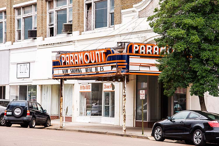 Paramount Theatre, Clarksdale, Mississippi