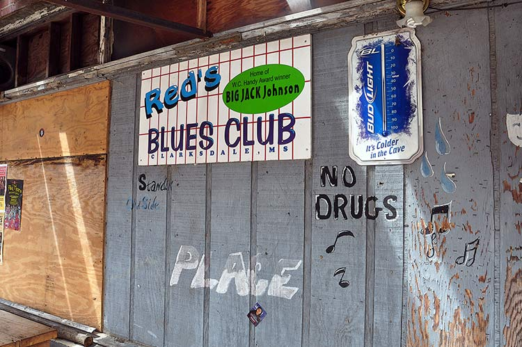 Red's Blues Club, Clarksdale, Mississippi
