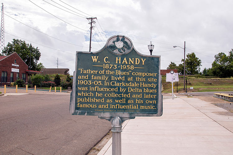 W.C. Handy's former site