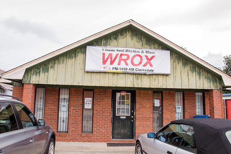 WROX radio station, Clarksdale, Mississippi
