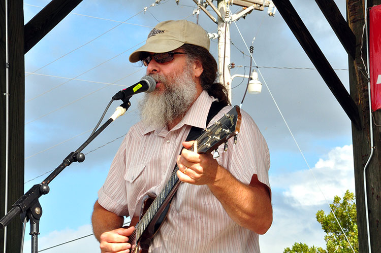 Bill Abel, Sunflower River Blues & Gospel Festival, Clarksdale, Ms