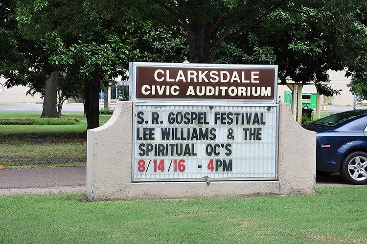 Gospel Stage, Sunflower River Blues & Gospel Festival, Clarksdale, Ms