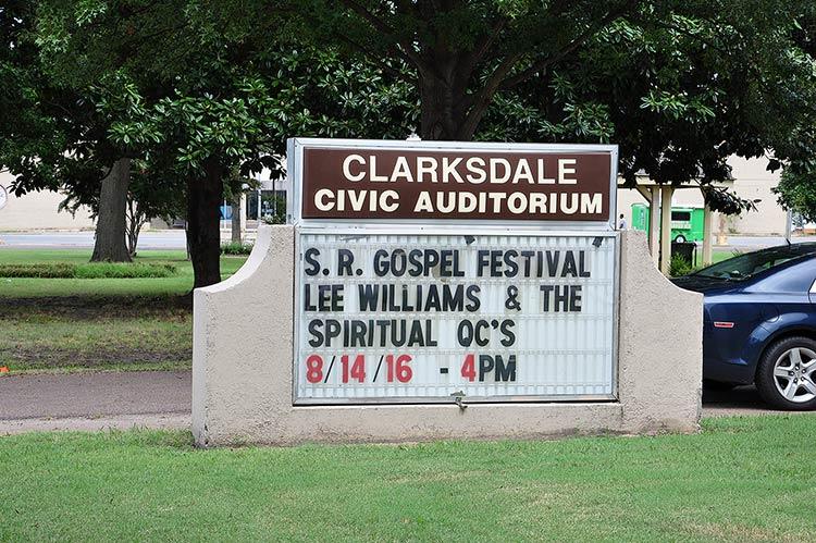 Gospel Stage, Clarksdale