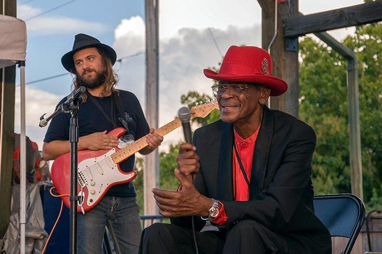 Walt Busby, Josh 'Razorblade' Stewart, Sunflower River Blues & Gospel Festival, Clarksdale, Ms