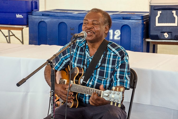 Lil Willie Farmer, Sunflower River Blues & Gospel Festival, Clarksdale, Ms