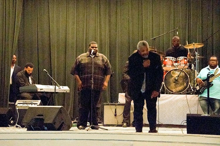 Ned Johnson & The Jonestown Crusaders, Sunflower River Blues & Gospel Festival, Clarksdale, Ms