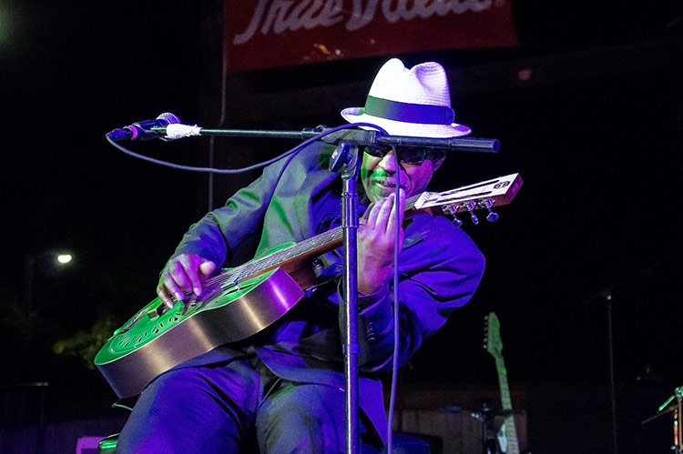 Vasti Jackson, Sunflower River Blues & Gospel Festival, Clarksdale, Ms