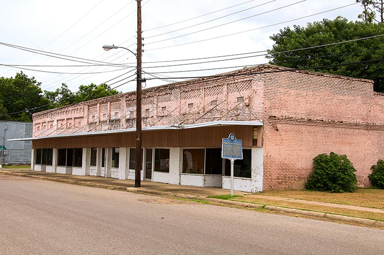 Hirsberg's Drugstore, Friars Point, Coahoma County, Mississippi