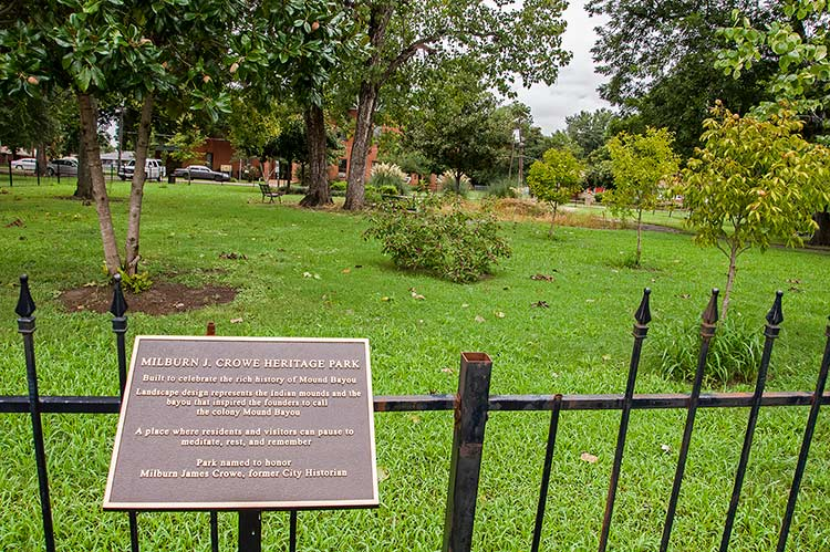 Heritage Park, Mound Bayou, Mississippi