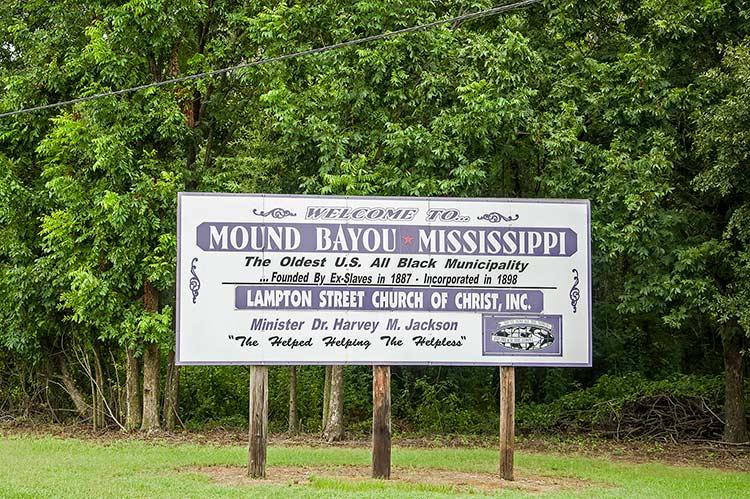 Mound Bayou (on Old Highway 61), Mississippi