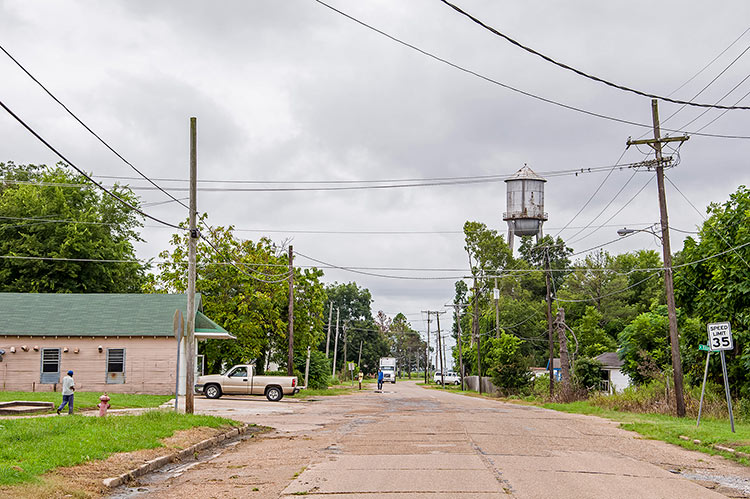 Shelby, Mississippi, town on the Highway 61