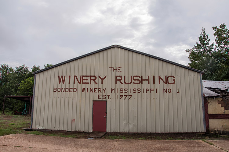Former Winery Rushing, south-east of Merigold, Mississippi