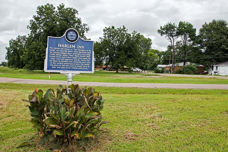 Harlem Inn former site, Winstonville, Mississippi