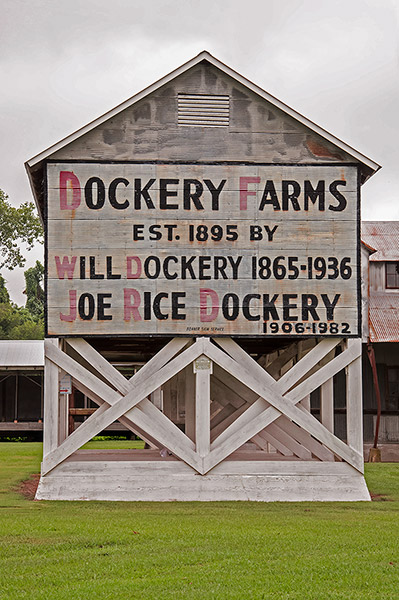 Barn of Dockery Farms, Mississippi