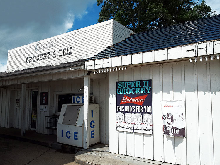 Carroll's Grocery & Deli on Highway 49 W, Drew, Mississippi