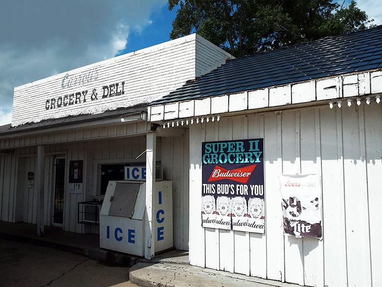 Carroll's Grocery & Deli, Drew, Hwy 49W