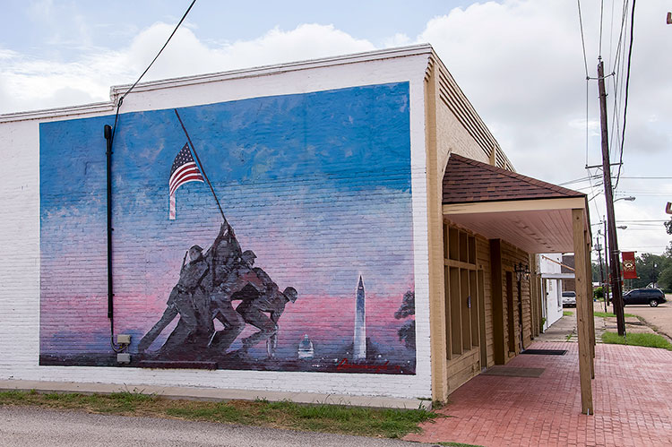 Mural in Ruleville, Mississippi