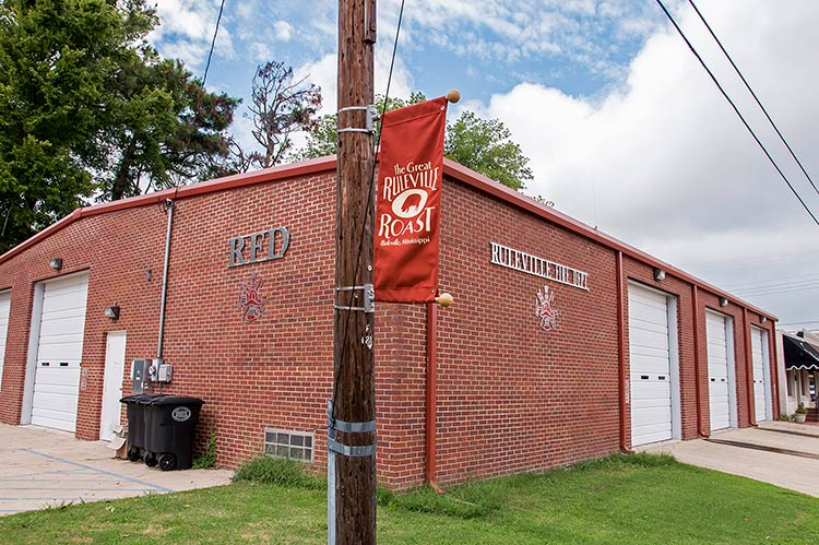 Fire station, Ruleville, Mississippi