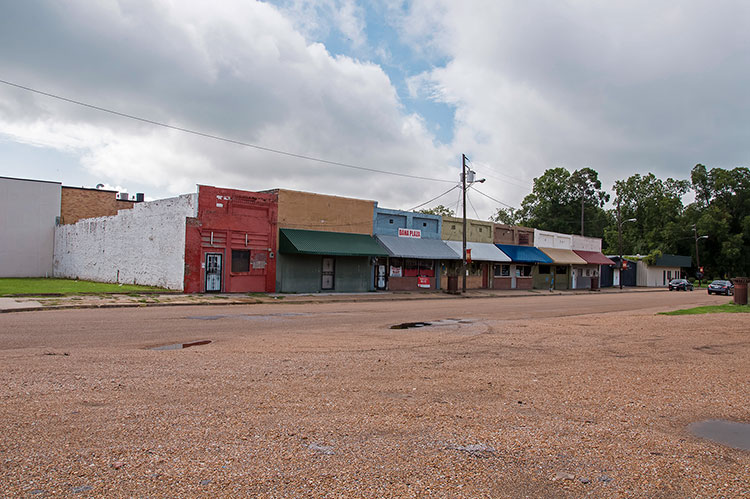 Greasy Street, Ruleville, city on Highway 49 W, Mississippi