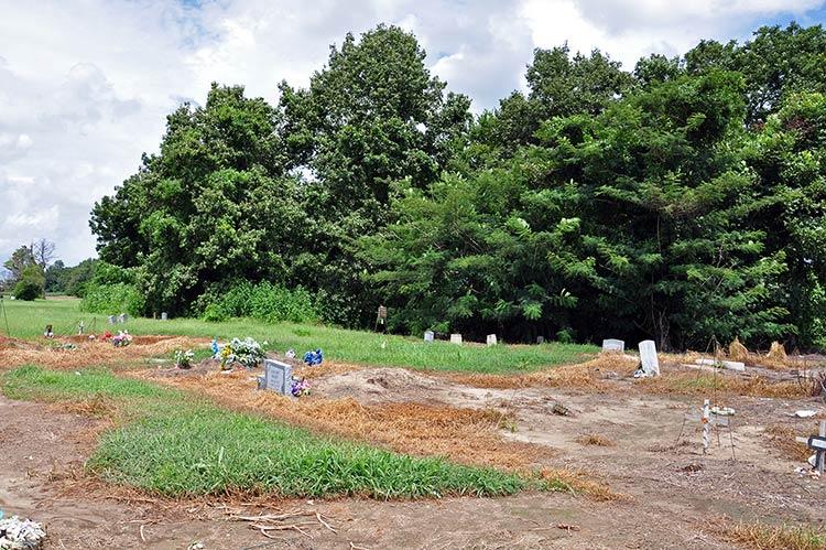 S.B. Williamson's grave