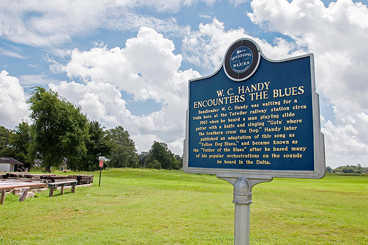 W.C. Handy encounters the blues, Tutwiler, Mississippi