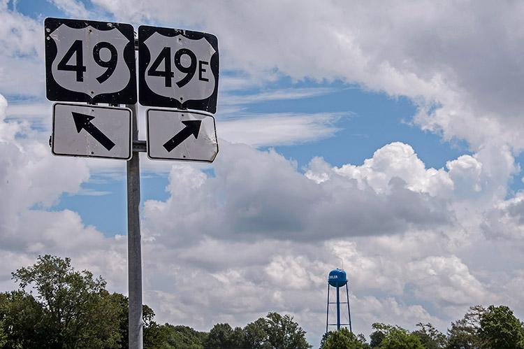 Highway 49, Mississippi