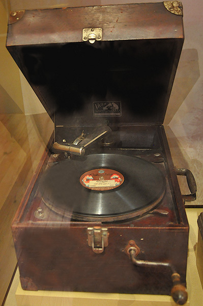 Victor Talking Machine, B.B. King Museum, Indianola, Mississippi
