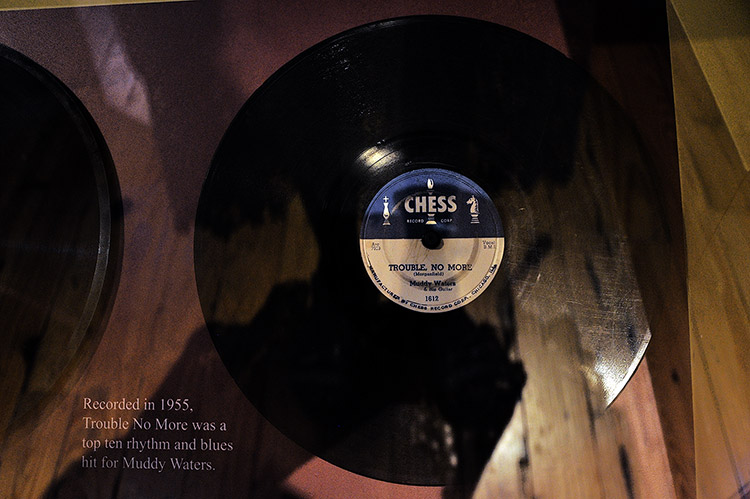 Trouble No More, Chess record, B.B. King Museum, Indianola, Mississippi