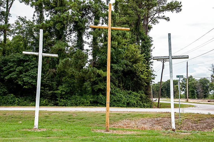 Crosses Across America, Money, Ms