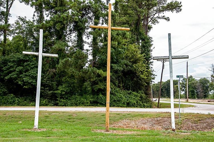 Crosses Across America, Money, Mississippi