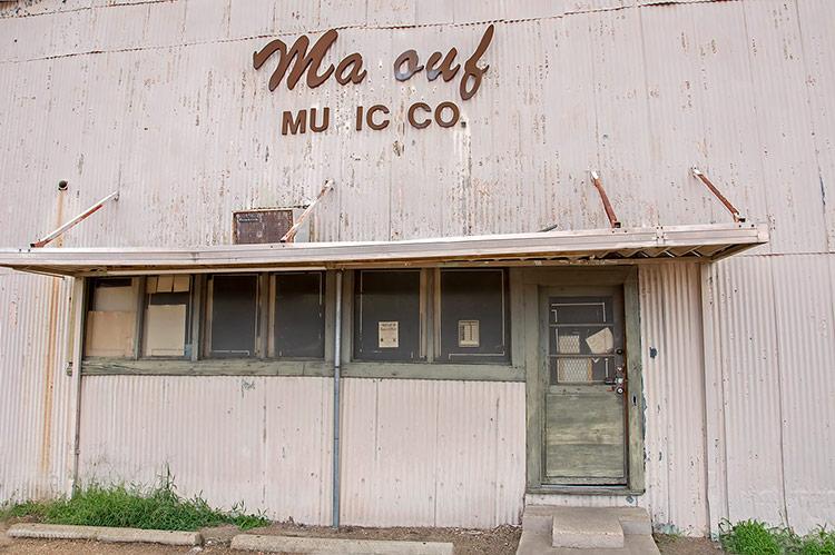 Malouf Music Co, Greenwood, Mississippi