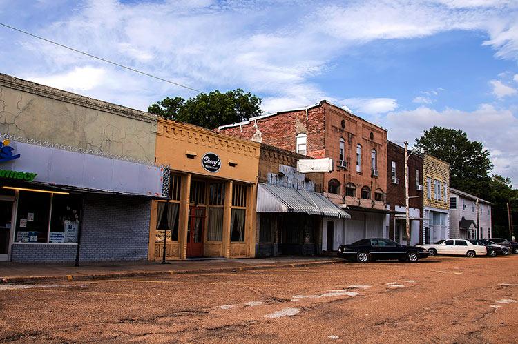 Former Ralph Lembo's store, Humphreys St., Itta Bena, Mississippi