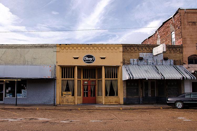 Former Ralph Lembo's store, Itta Bena, Mississippi