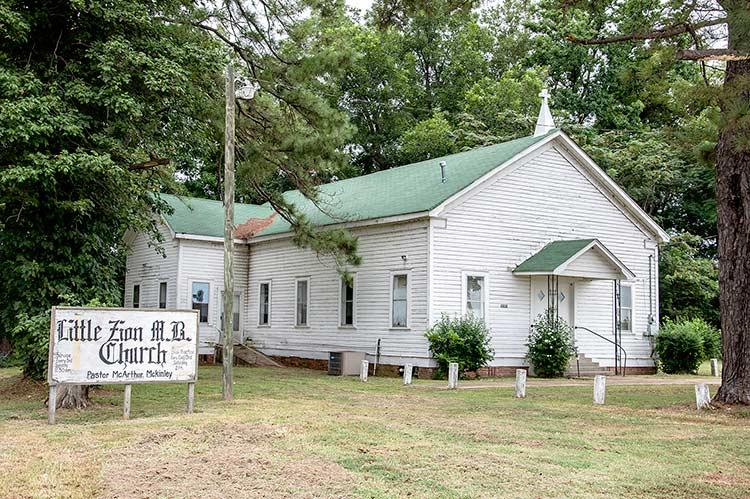 Little Zion M.B. Church, Greenwood, Mississippi