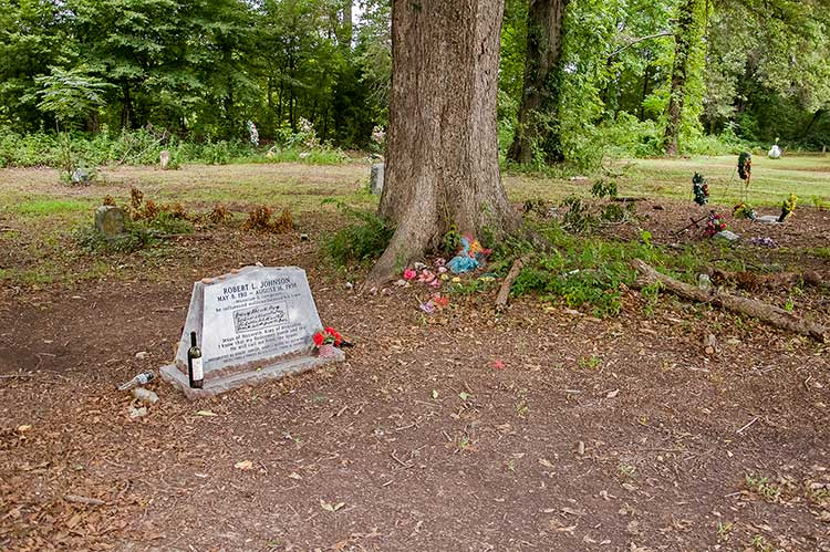 Robert Johnson's sitegrave, Greenwood, Mississippi