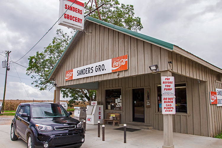 Sanders Grocery, Minter City