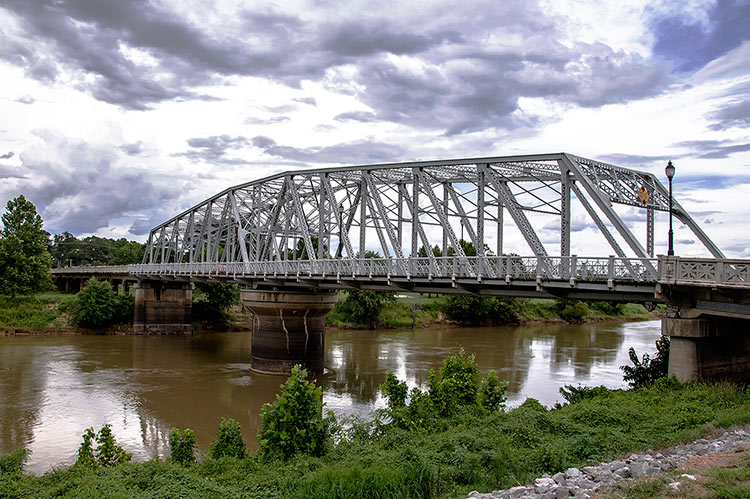 Tallahatchie River, Greenwood, Mississippi