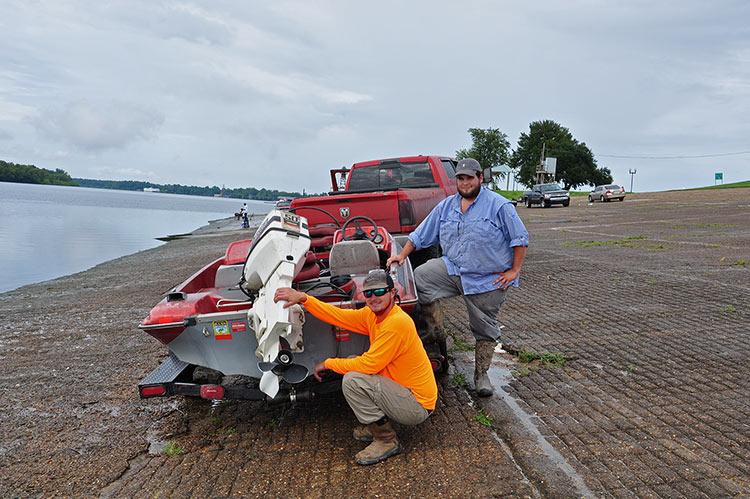 Fishermen, the Levee, Greenville, Mississippi