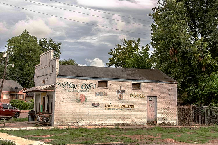 May's Cafe, Nelson Street, Greenville, Mississippi