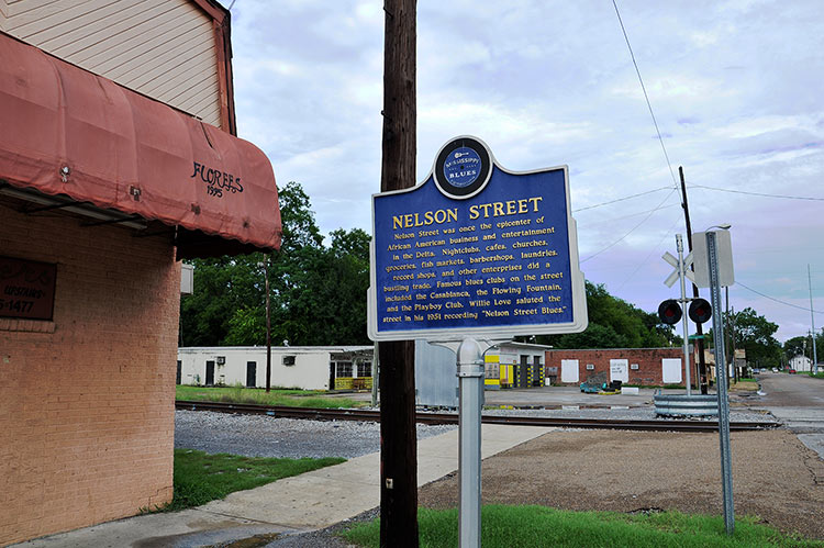 Nelson Street, Greenville, Mississippi