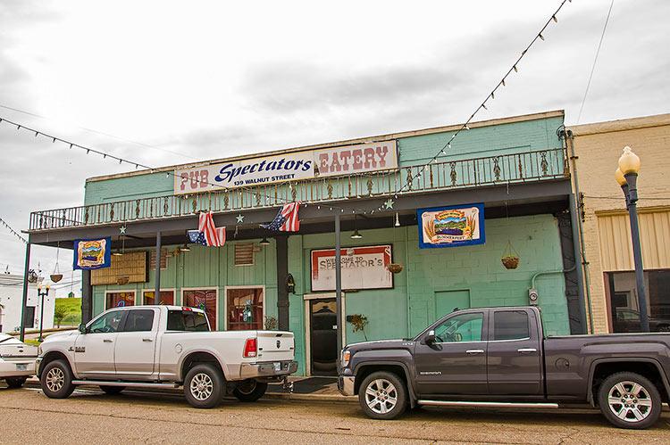 Spectators, Walnut Street, Greenville, Mississippi