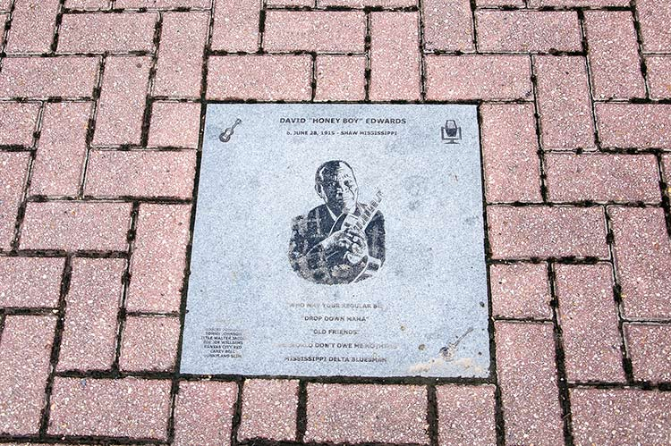 Walk of Fame, Walnut Street, Greenville
