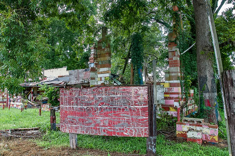 Ruins of Margaret's Grocery and Market, Vicksburg, Mississippi
