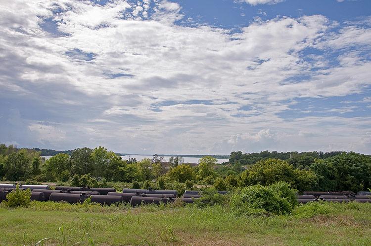 Mississippi river, Vicksburg