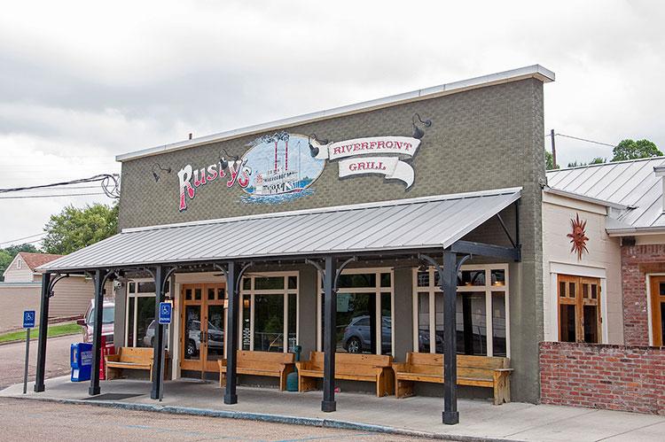 Rusty's Riverfront Grill, Vicksburg, Mississippi