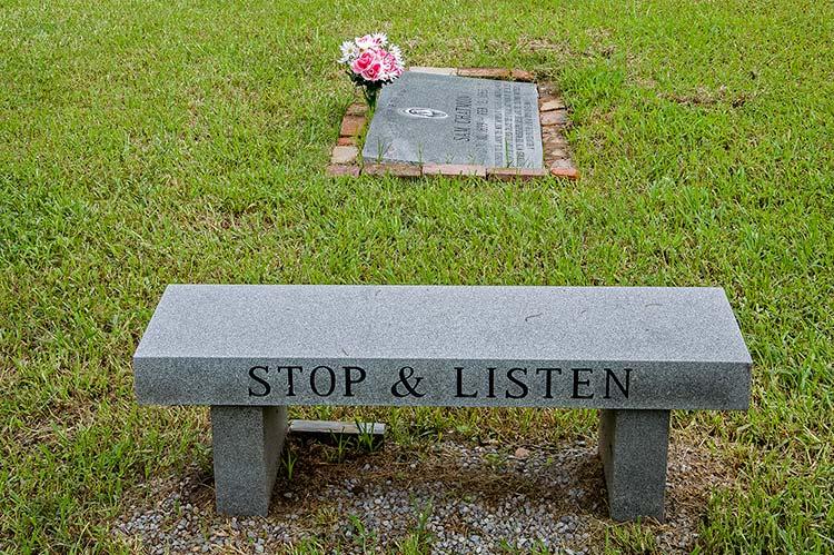 Sam Chatmon's grave